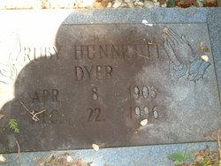 Ruby <i>Hunnicutt</i> Dyer