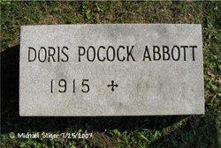 Doris <i>Pocock</i> Abbott
