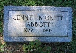 Jennie <i>Burkett</i> Abbott