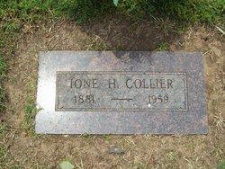 Martha Ione Ony <i>Hall</i> Collier