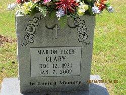 Marion <i>Fizer</i> Clary
