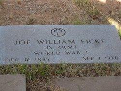 Joe William Eicke