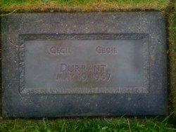 Cecil Durrant