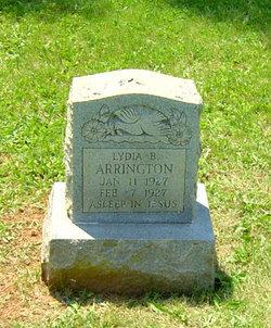 Lydia B Arrington