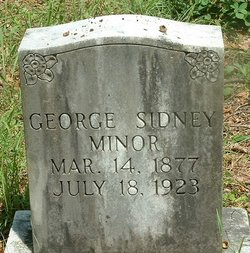 George Sidney Minor