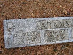 Martha Jane Adams