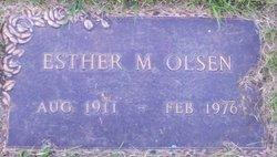 Esther Mary Katherine <i>Hostick</i> Olsen