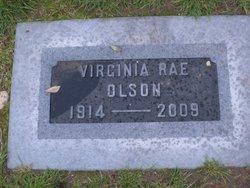 Virginia Rae <i>Symonds</i> Olson