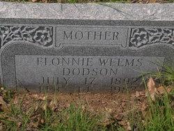 Flonnie <i>Weems</i> Dodson