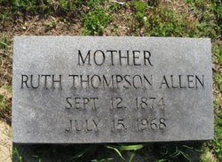 Ruth <i>Thompson</i> Allen