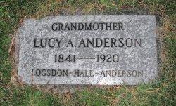 Lucy A <i>Logsdon Hale</i> Anderson