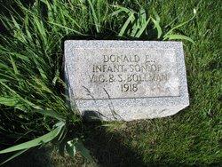 Donald E Bollman