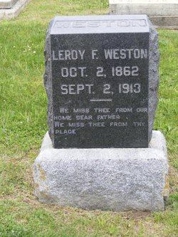 Leroy F Weston