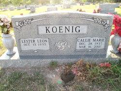 Callie Marie <i>White</i> Koenig