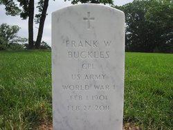 Corp Frank Woodruff Buckles