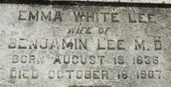 Emma <i>White</i> Lee