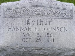 Hannah Elizabeth <i>Cooper</i> Johnson