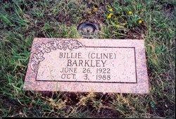 Billy Dean <i>Cline</i> Barkley