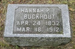 Hannah <i>Pemington</i> Buckhout
