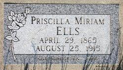 Priscilla Miriam <i>Dimmick</i> Ells