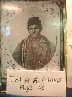 Lieut John Albert Adams