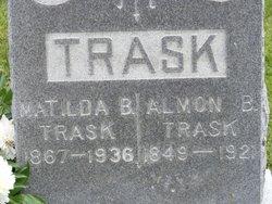 Matilda B. <i>Barnes</i> Trask