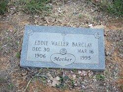 Mrs Eddie Eddie <i>Waller</i> Barclay