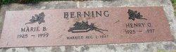 Marie B. <i>Seiler</i> Berning