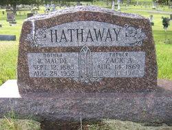 Roxie Maude <i>Nickols</i> Hathaway