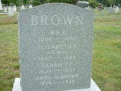 Elizabeth W Jane? <i>Frost</i> Brown