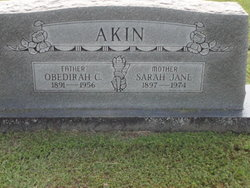 Sarah Jane Akin