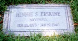 Minnie <i>Steffens</i> Erskine