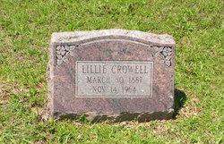 Lillie <i>Curry</i> Crowell