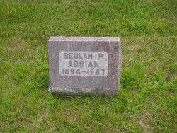Beulah P <i>Creighton</i> Adrian