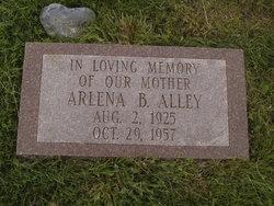 Arlena B <i>Alley</i> Alley