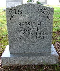 Bessie M Cooper