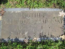 Allie B <i>Dover</i> Whisnant