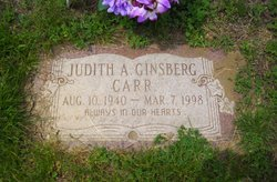 Judith A <i>Ginsberg</i> Carr