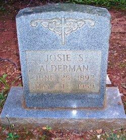 Josie <i>Spainhour</i> Alderman
