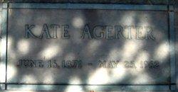 Kate <i>Hubler</i> Agerter