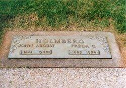 Alfreda Charlotta <i>Landquist</i> Holmberg