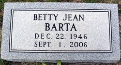 Betty Jean Barta