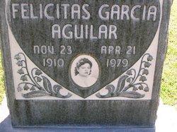 Felicitas <i>Garcia</i> Aguilar