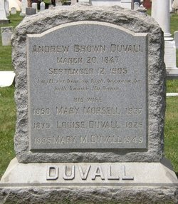 Andrew Brown Duvall