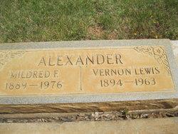 Mildred F Alexander