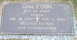Pvt Gene E Goff
