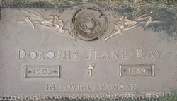 Dorothy Jeanne Ray