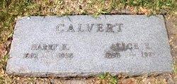 Alice Emma <i>Kelley</i> Calvert