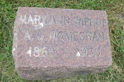 Mary Anne <i>Harrington</i> McMechan