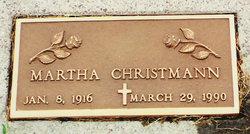 Martha <i>Hintz</i> Christmann